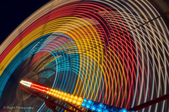 Ferris Wheel Close up