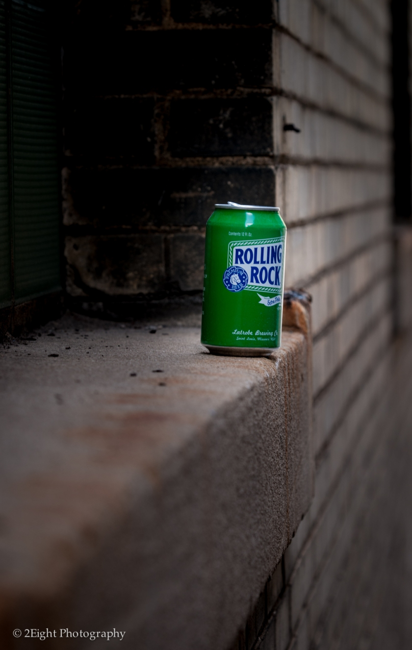 Can on a Ledge
