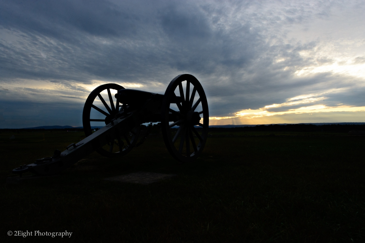 A Cannon at Gettysburg