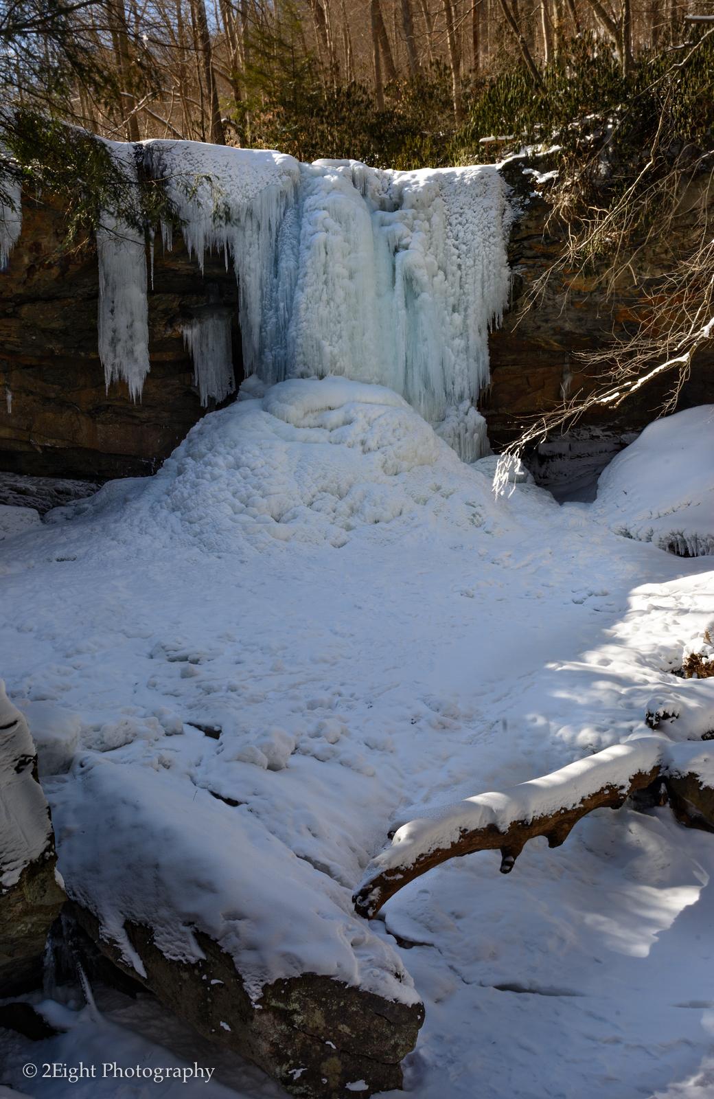 Cucumber Falls Frozen